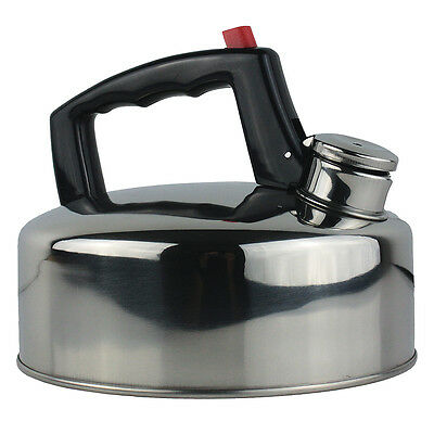 New Yellowstone Camping Stove Kettle Hob Gas Stainless Steel 2 Litre CLEARANCE • 8.99£