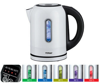 AU39 • Buy TODO 1.7L Stainless Steel Cordless Kettle Keep Warm Electric Led Water Jug White