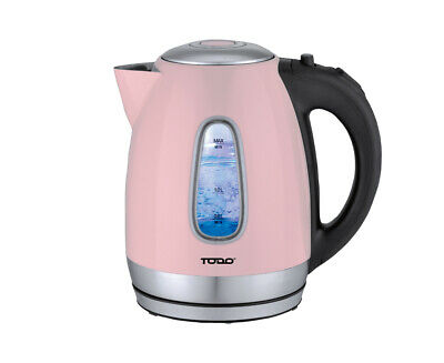 AU34.95 • Buy TODO 1.7L Stainless Steel Cordless Kettle 2200W Blue Led Light Electric Water...