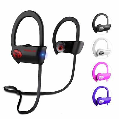 $29.97 • Buy TREBLAB XR500 Bluetooth Headphones Best Wireless Sports Earbuds IPX7 Waterproof