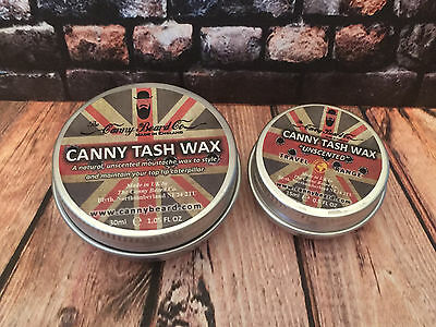 Canny Beard Co Tash Wax / Moustache Wax • 5£