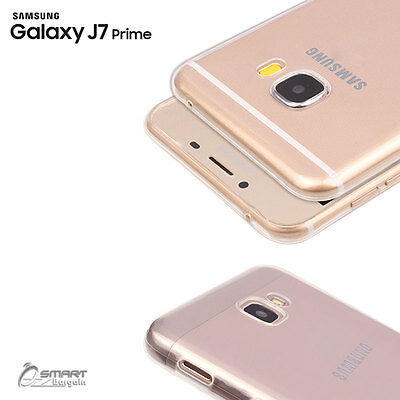AU4.59 • Buy Clear TPU Gel Jelly Rubber Soft Skin Case Cover For Samsung Galaxy J7 Prime