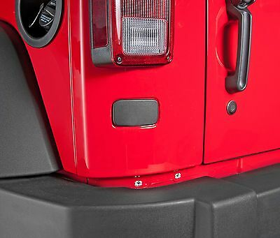 $12.99 • Buy Rear License Plate Delete Relocation Seal Plate Cover 2007-2017 Jeep Wrangler