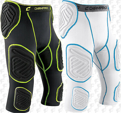9284c3cfe87 Champro Mens Bull Rush 7 Padded Integrated Football Girdle With Pads  FPGU17A • 33.99