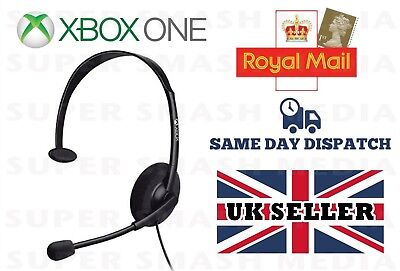 £9.99 • Buy Official Genuine Xbox One Chat Headset With Mic Microsoft One S X 3.5mm - New