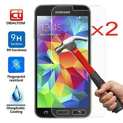 $ CDN2.11 • Buy Premium Tempered Glass Film Screen Protector Cover For Samsung Galaxy S6 S7 J6