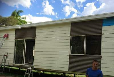 AU17550 • Buy 2 Bedroom DIY Granny Flat Kit - The Haven 53m2 For Your Slab - FC Weatherboard