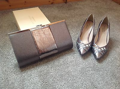 Ladies Shoes And Matching Bag • 90£