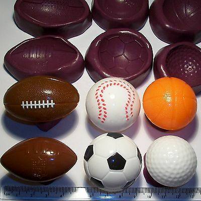 £4.75 • Buy Basket Ball Football Rugby Cake Decoration Mould Mold Cup Cake Topper Icing
