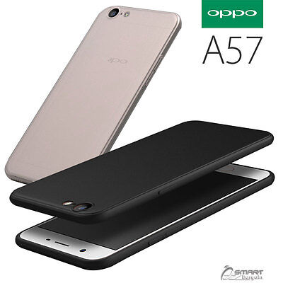 AU4.59 • Buy Matte Soft TPU Gel Jelly Slim Rubber Case Cover For  Oppo A57