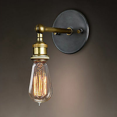 £7.99 • Buy Modern Vintage Retro Industrial Rustic Sconce Wall Light Lamp Fitting Fixture