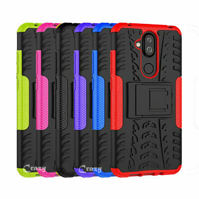 AU8.99 • Buy Heavy Duty Tough Rugged Shockproof Case Cover For Nokia 3.1 6.1 Plus 7.1 8.1