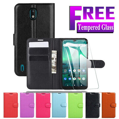 AU7.95 • Buy Wallet Leather Flip Stand Case Cover For Nokia 1 2.1 3.1 Nokia 5 6.1 7 Plus 8.1