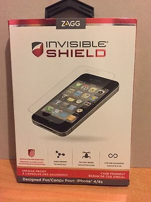 £10.84 • Buy ZAGG Invisible Shield Smudge-Proof For IPhone 4 4S Screen Protector - NIB Sealed