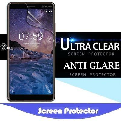 AU3.99 • Buy Clear / Anti Glare Matte Screen Protector For Nokia 1.3 3.1 5 6.1 7.1 7 Plus 8.1