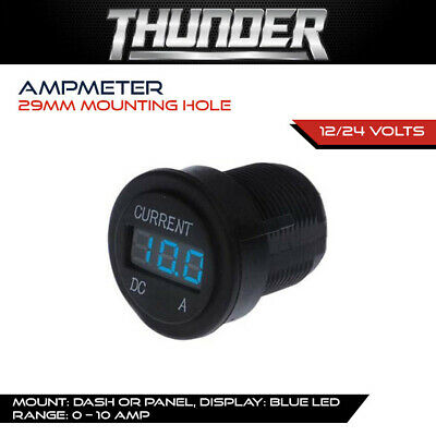 AU54.99 • Buy Thunder Ammeter - Accessory Current Draw Monitor, Dash & Panel Accessories, 4wd