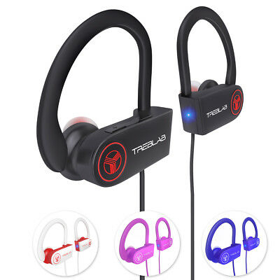 $23.97 • Buy TREBLAB XR100 Bluetooth Sport Headphones Best Wireless Earbuds For Running Mic