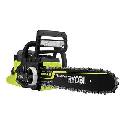 View Details Ryobi 36V Lithium-Ion Cordless Chainsaw Kit-5.0Ah Battery And Charger • 375.17£