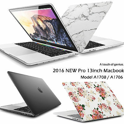 $23.22 • Buy 2017 Apple MacBook Pro 13 15 Inch Touch Bar Marble Rubberized Hard Case Cover CA