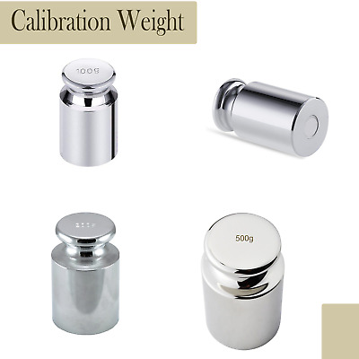 £3.04 • Buy Calibration Weight Precision Balance For Digital Pocket Scale 100g 200g 500g