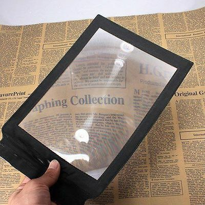 A4 Full Page Magnifier Sheet Magnifying Glass Reading Aid Lens 3X Big • 2.88£