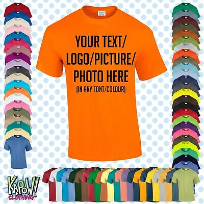 £6.99 • Buy Custom Personalised Men's Printed T-SHIRT Name Funny Work Stag -Your Text/logo 4