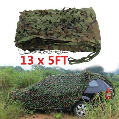 $17.99 • Buy 13x5ft Camouflage Hunting Camping Camo Net Woodland Jungle Military Hide Shade
