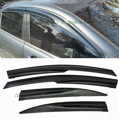 $42.99 • Buy Fit 04-08 Acura TSX Mugen Style JDM Smoke Window Visors Rain Guard Deflectors