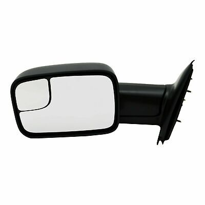 $85.87 • Buy New Driver Side Manual Non-Heated Towing Mirror For Dodge Ram Trucks 2002-2009