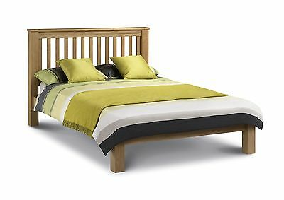 £416.99 • Buy Amsterdam Low FootEnd Solid Oak Bed Frame In Double Kingsize OR Super King