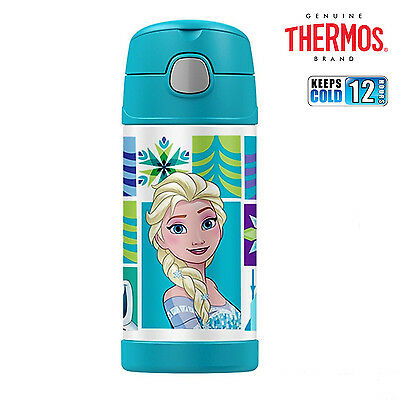 AU26.99 • Buy New THERMOS Funtainer S/Steel Vacuum Insulated Drink Bottle 355ml Disney Frozen