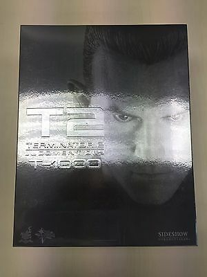 AU901.74 • Buy Hot Toys MMS 129 Terminator 2 Judgment Day T1000 Robert Patrick Figure NEW