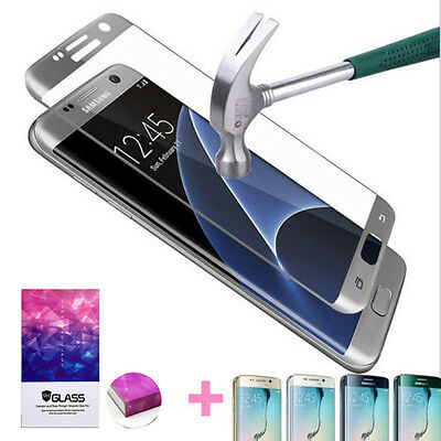$ CDN3.57 • Buy Premium Tempered Glass Screen Protector For Samsung Galaxy S6 S7 Edge S8 S8 Plus