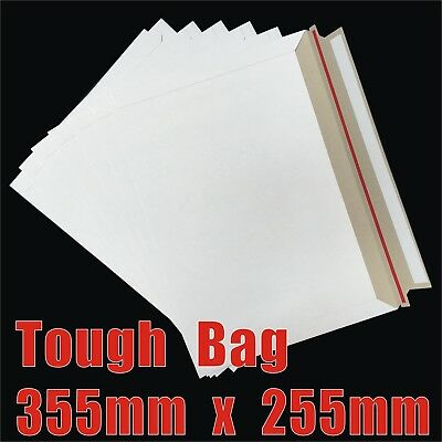 AU36.85 • Buy Card Mailer 255x355mm B4 Envelope Tough Bag 255mm X 355mm Shipping Mailers 300g