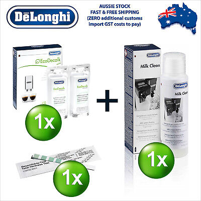 AU52.99 • Buy Delonghi EcoDecalk Eco Decalk Descaler Cleaner Cleaning Water Hardness M-Kit