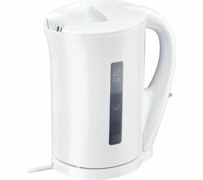 £9.90 • Buy Portable 1.7 Litre Electric Travel Kettle Kitchen Hot Water Cordless Jug 2200W