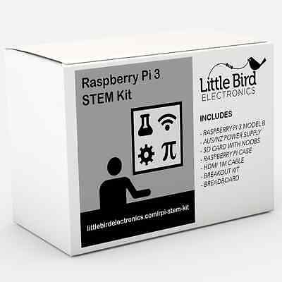AU154.95 • Buy NEW Raspberry Pi 3 STEM Kit - Prototyping Kit