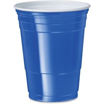 Solo Cup 16 Oz. Plastic Cold Party Cups P16BCT • 50.65£