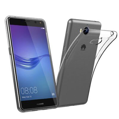 AU4.49 • Buy Thin Slim Soft Clear Gel Transparent Case Cover For Huawei Y5 2017 I Y5 Y6 2018