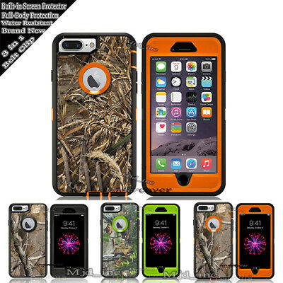 AU18.51 • Buy For IPhone 8 / 8 Plus Case [Clip Fits Otterbox Defender] Holster Camo