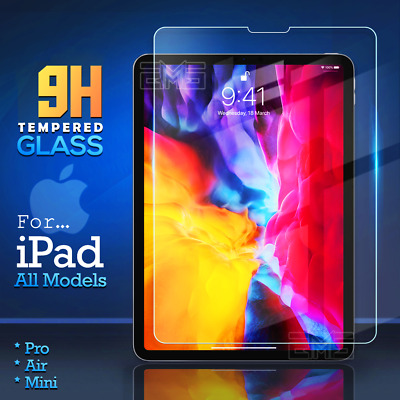 AU8.99 • Buy For Apple IPad Pro 11 12.9 Air 10.5 7th 8th Gen Tempered Glass Screen Protector