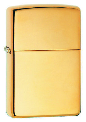 AU47.99 • Buy  NEW Zippo Lighter  High Polish Brass  254B Gold - Free Shipping In Australia