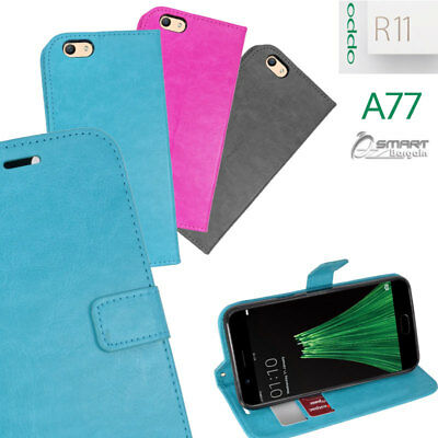 AU6.99 • Buy Wallet Flip Card Slot Stand Case Cover For Oppo R11 A77