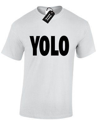 Yolo Mens T Shirt Cool Swag Design S - 5xl • 6.99£