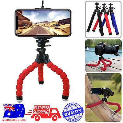 AU5.45 • Buy Camera Phone Holder Flexible Octopus Mini Tripod Bracket Stand For IPhone