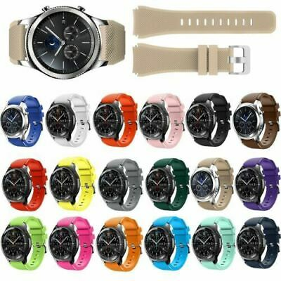 AU6 • Buy Silicone Watch Band Bracelet Strap For Samsung Gear S3 Frontier Classic