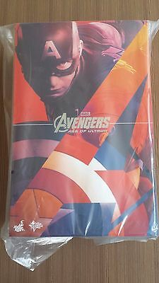 $ CDN734.95 • Buy Hot Toys MMS 281 Avengers Age Of Ultron Captain America Chris Evans 12 Inch NEW