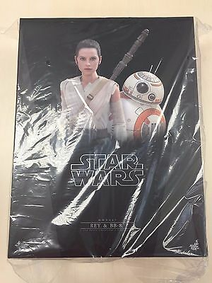 $ CDN402.45 • Buy Hot Toys MMS 337 Star Wars The Force Awakens Rey Daisy Ridley And BB-8 Set NEW