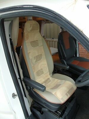 To Fit Mercedes Motorhome, Seat Covers, Sample 15 • 79.99£
