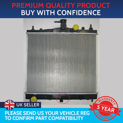 Radiator To Fit Nissan Micra K12 2003 To 2010 Nissan Note Renault Modus Clio • 54£
